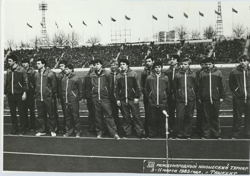 13 Международный юношеский турнир, Ташкент, 3-11 марта 1983 г. Антон Броварник